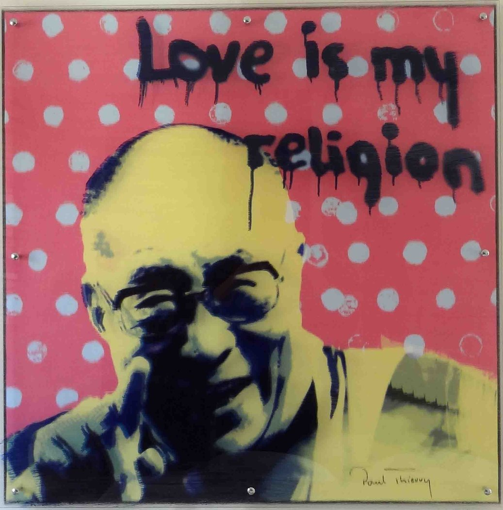 Paul Thierry - Dalai Lama - Love is my religion
