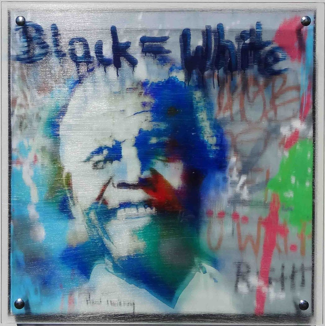 Paul Thierry - Black = White - Nelson Mandela