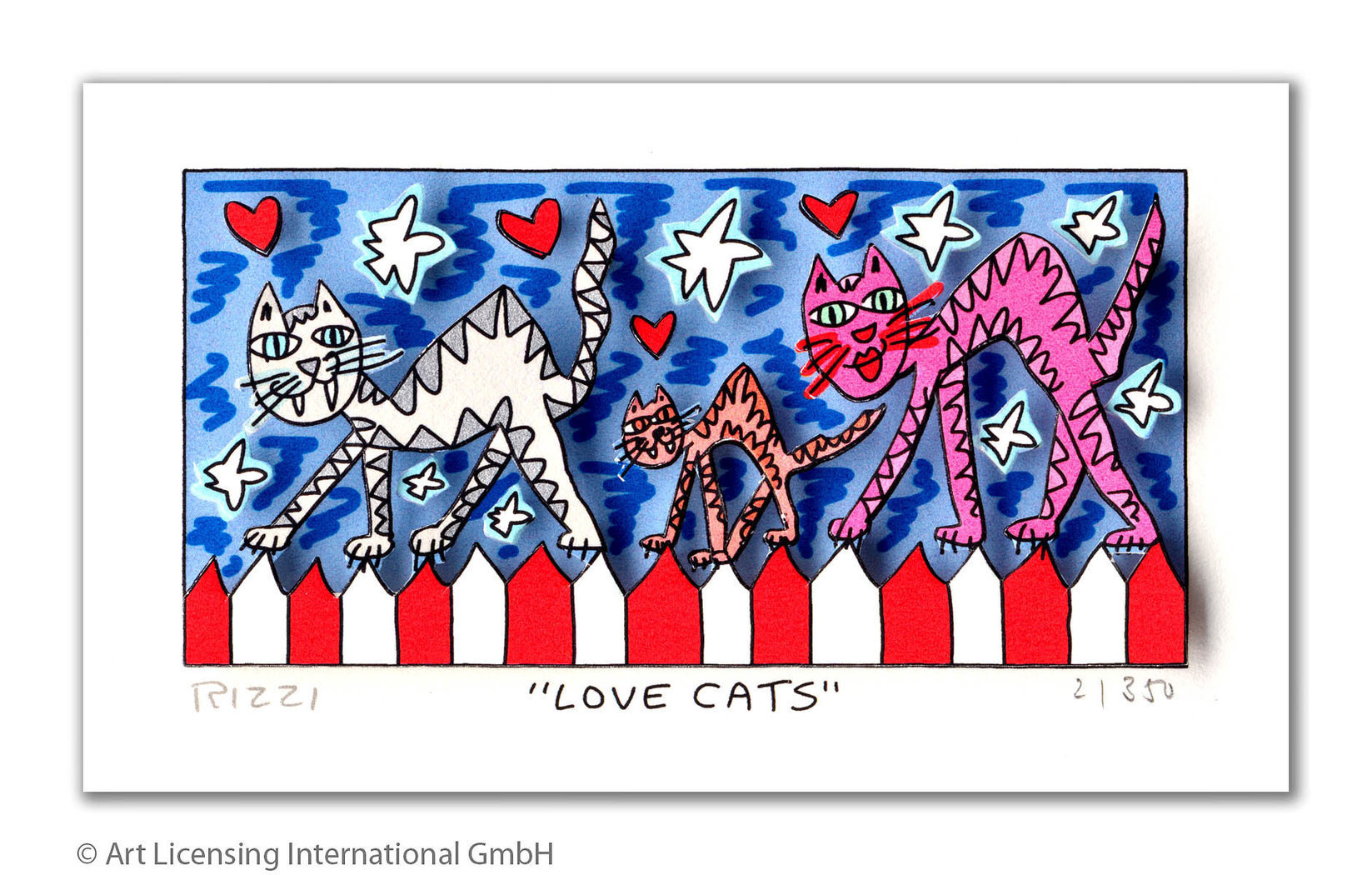 James Rizzi - LOVE CATS